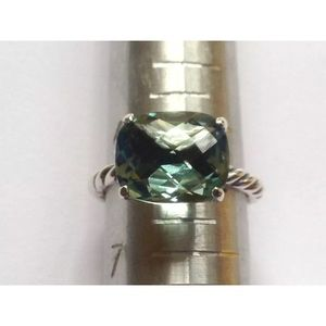 DY 12x10mm Prasiliote Cable Ring Sz 6.5